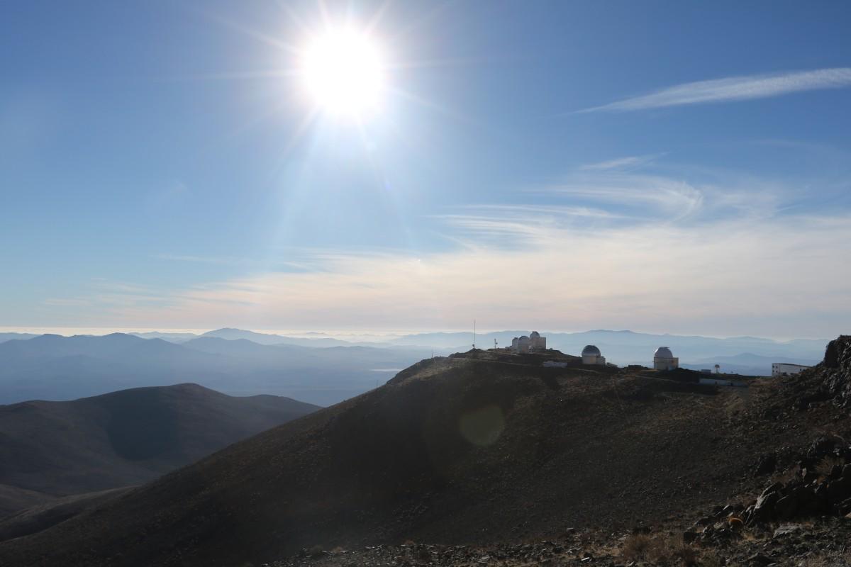 Sun from La Silla